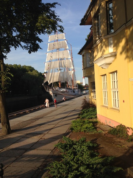 High Tide Foundation summer scheme container ship voyage