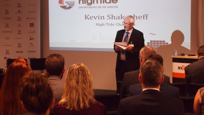 Kevin Shakesheff at High Tide Foundation event