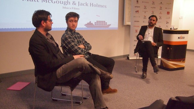 Matt McGough and Jack Holmes from Ithica interview by Mark Easby at Better