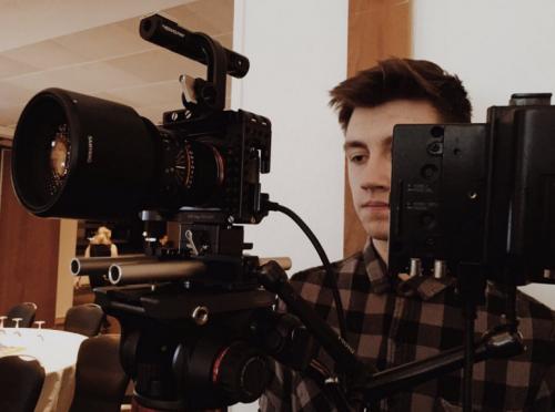 Jack Holmes summer scheme apprentice filmmaker at Ithica Films