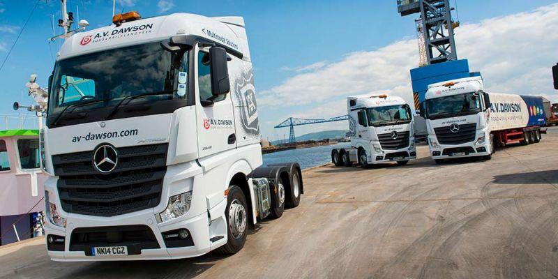 AV Dawson trucks