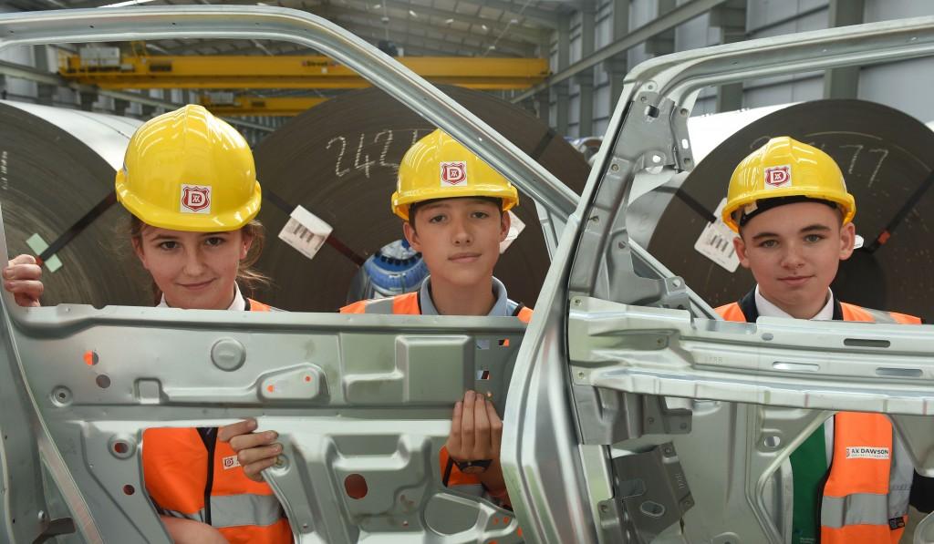 Automotive Cadetship students